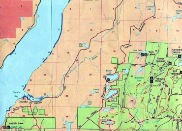 Dewatto Area Map
